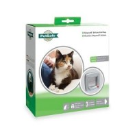 Petsafe Cat Flap 4 way lock 340 grijs