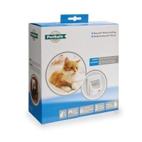 Cat Flap Magnetic 400 met halsbandmagneet wit